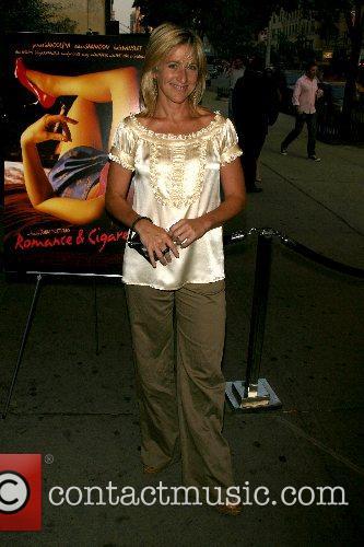 Edie Falco New York Premiere of 'Romance &...