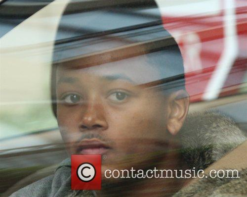 Romeo leaving the Beverly Wilshire Hotel in Beverly...
