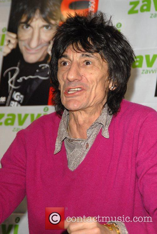 Ronnie Wood and Virgin 2