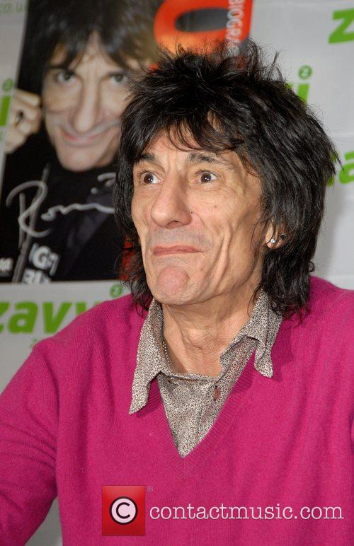 Ronnie Wood and Virgin 13