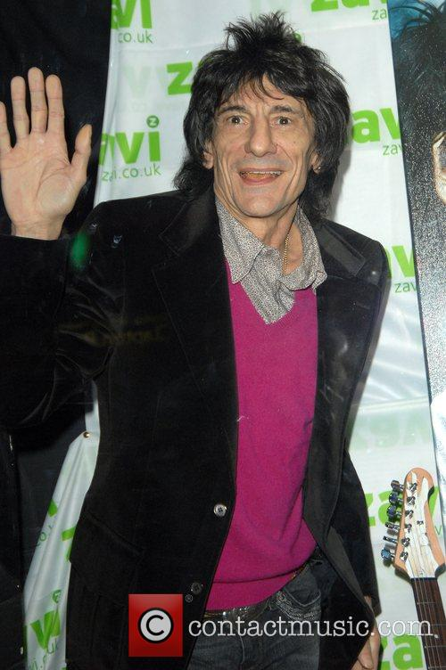 Ronnie Wood and Virgin 9