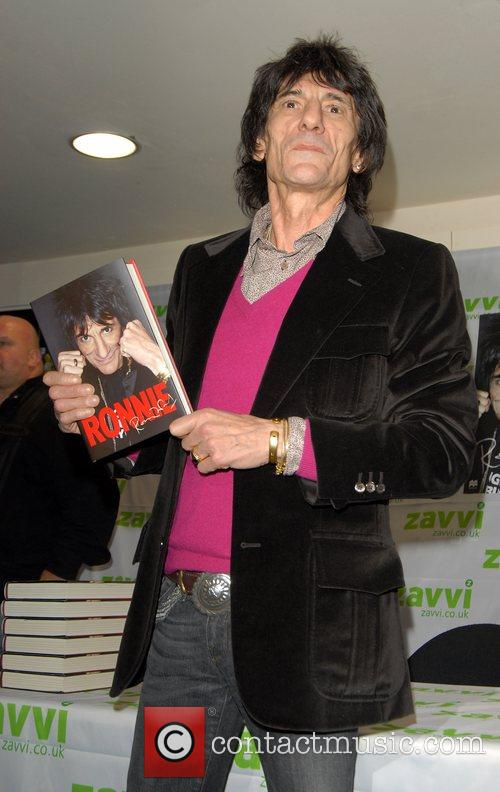Ronnie Wood and Virgin 11