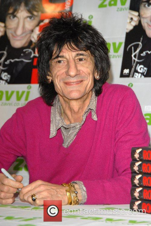 Ronnie Wood and Virgin 7