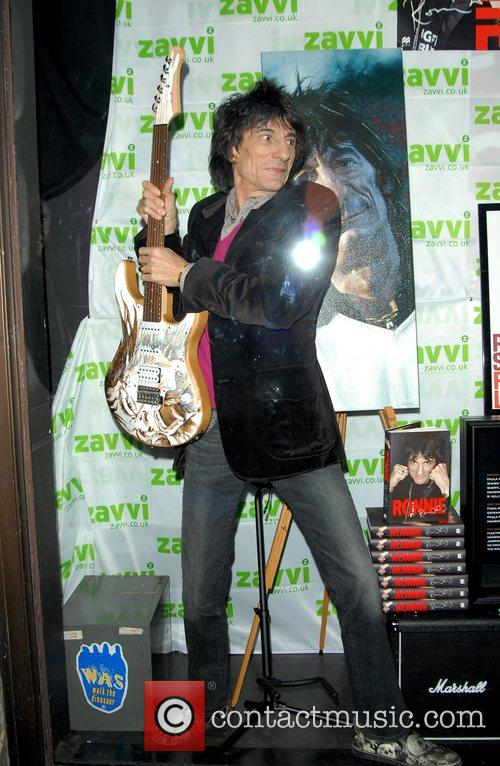 Ronnie Wood and Virgin 5