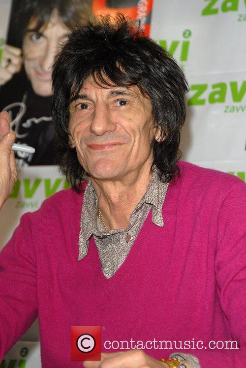 Ronnie Wood and Virgin 10