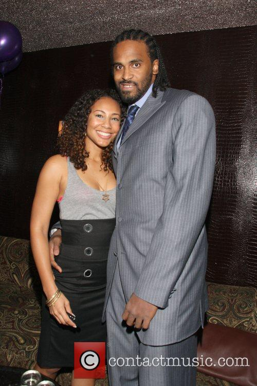 Whitney Epps and Ronny Turiaf LA Lakers, Ronny...