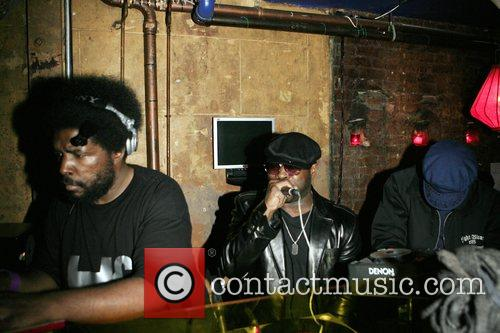 Questlove and Black Thought at The Roots Album...