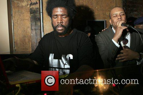 Questlove and Dice Raw at The Roots Album...