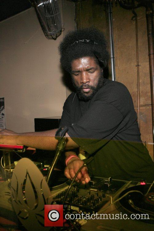 Questlove at The Roots Album realease party for...