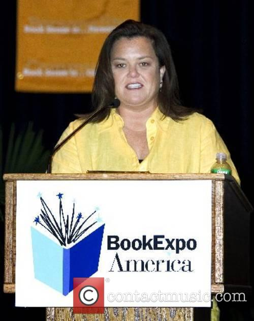 Rosie O'Donnell promotes her new book 'Celebrity Detox'...