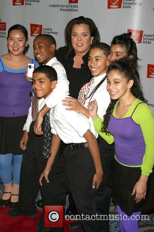 Rosie Odonnell and New York City Public School Honor Kids 9