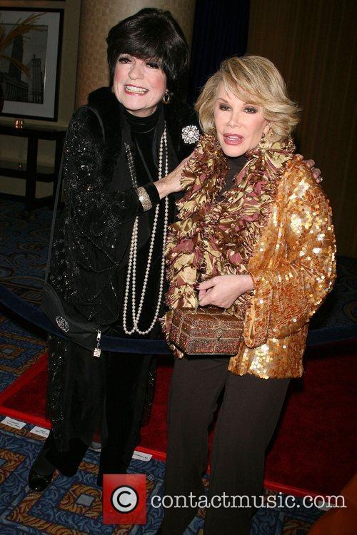 Joanne Worley and Joan Rivers 10th Anniversary Gala...