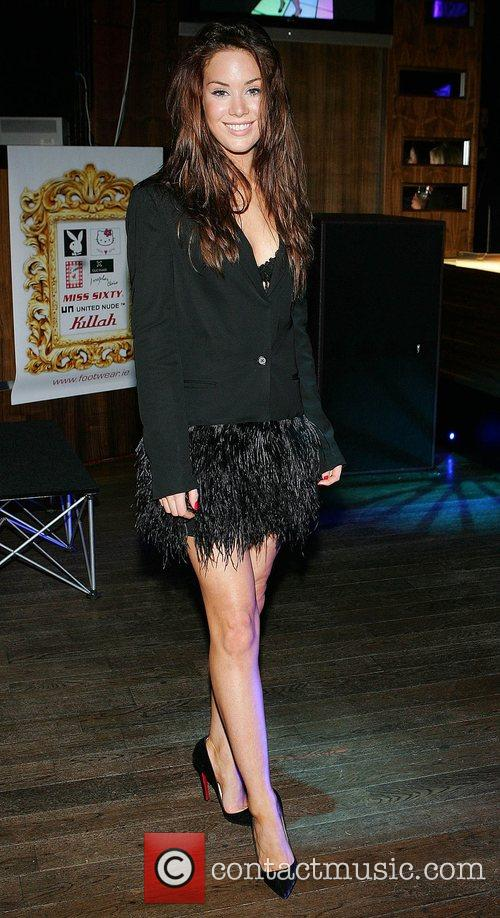 Roxanne McKee at the launch of the 'Champagne...