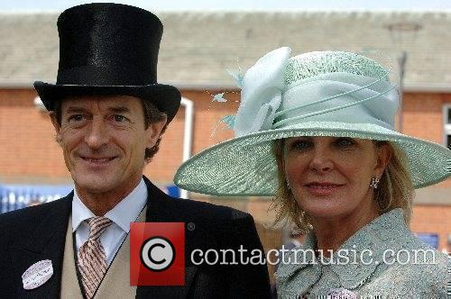 Actor Nigel Havers and Georgiana Bronfman attend the...