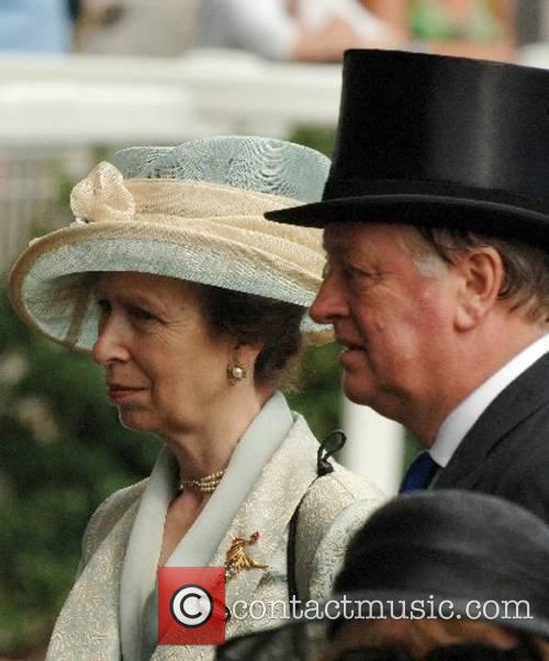 Princess Anne, Pricess Royal and Andrew Parker-Bowles attend...