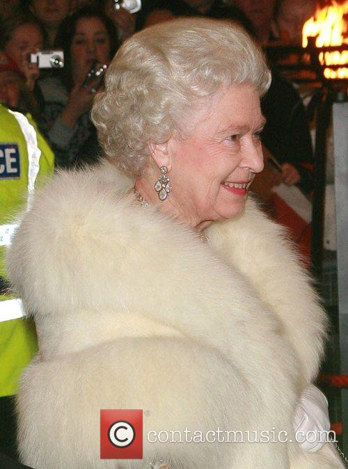 Queen Elizabeth II The 79th Royal Variety Performance...