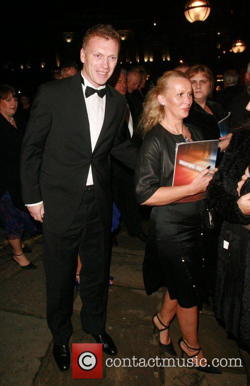 David Moyles and wife The 79th Royal Variety...