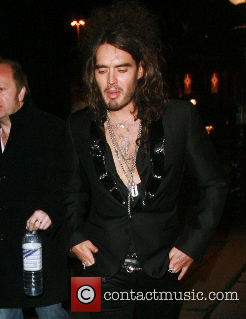 Russell Brand The 79th Royal Variety Performance held...