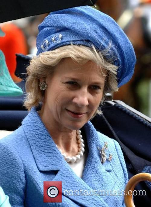 The Duchess of Gloucester attends Ladies Day at...