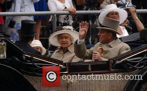 Queen Elizabeth ll and Prince Philp, Duke of...