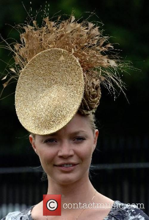 Model Jodie Kidd attends Ladies Day at Royal...