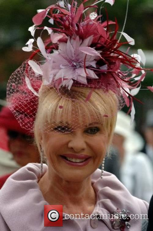 Ivana Trump attends Ladies Day at Royal Ascot...