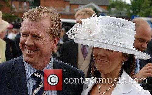 Steve McLaren and wife attend Ladies Day at...
