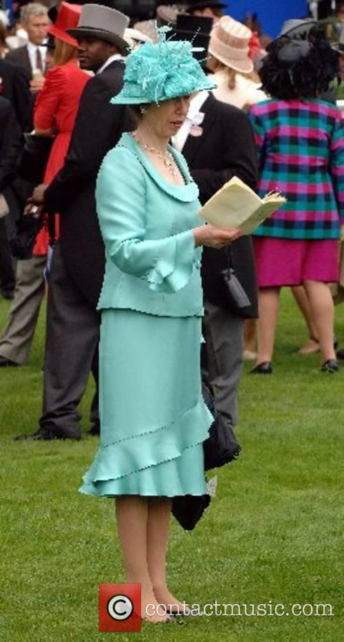 Princess Anne, Princess Royal attends Ladies Day at...