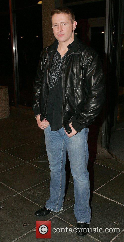 Damien Dempsey leaving RTE Studios after appearing on...