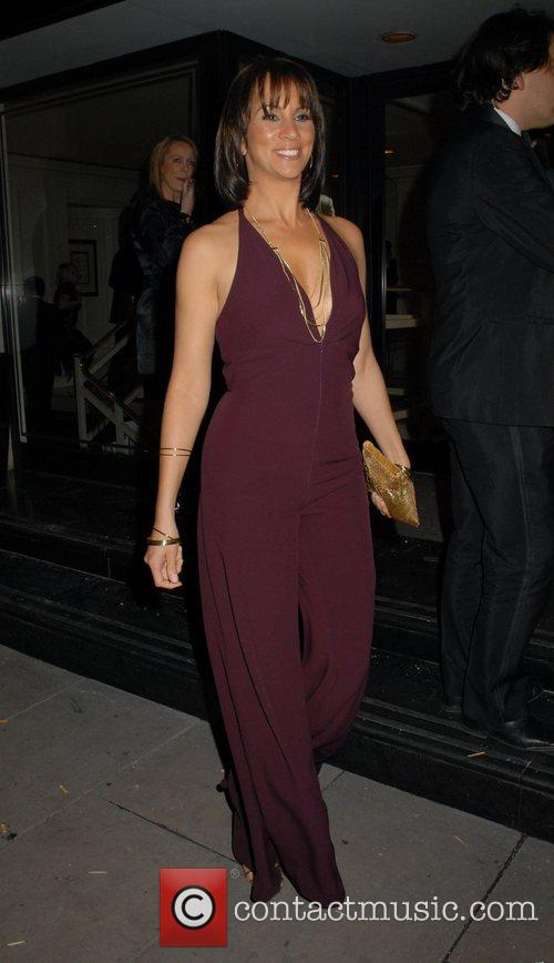 Andrea McLean RTS Programme Awards 2007 at Grosvenor...