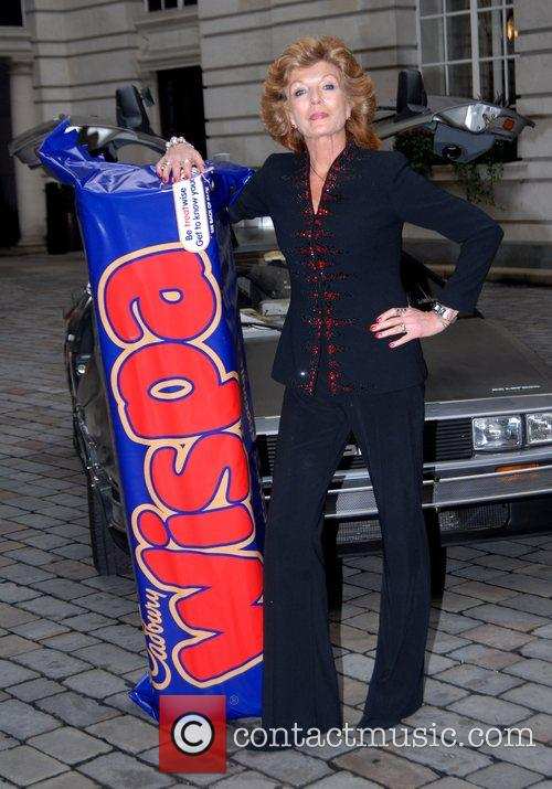 Rula Lenska re-launches the Cadburys Wispa bar at...