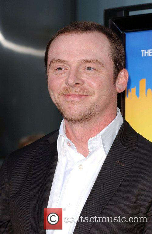 Simon Pegg and Arclight Theater 7