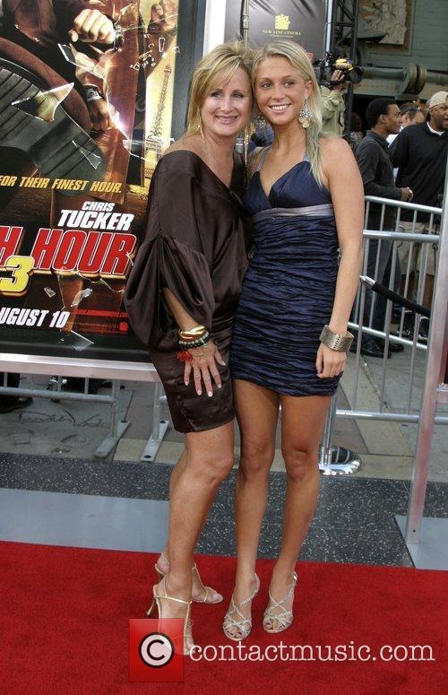 Kelly Stone and daughter Stephanie Stone LA premiere...