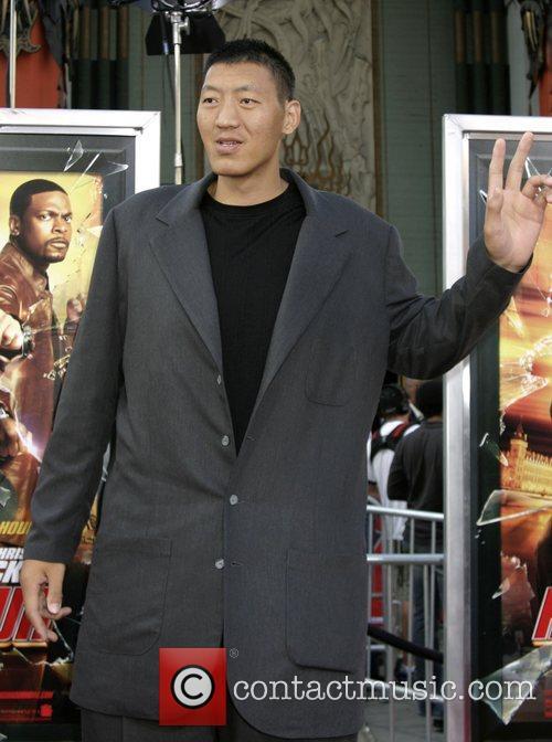 Sun Ming Ming LA premiere of 'Rush Hour...