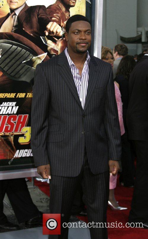 Chris Tucker  LA premiere of 'Rush Hour...