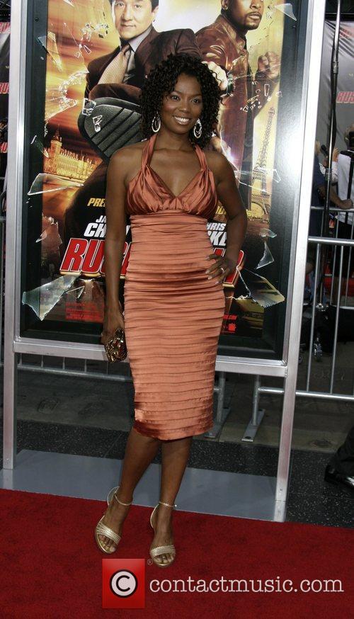 Vanessa Williams LA premiere of 'Rush Hour 3'...
