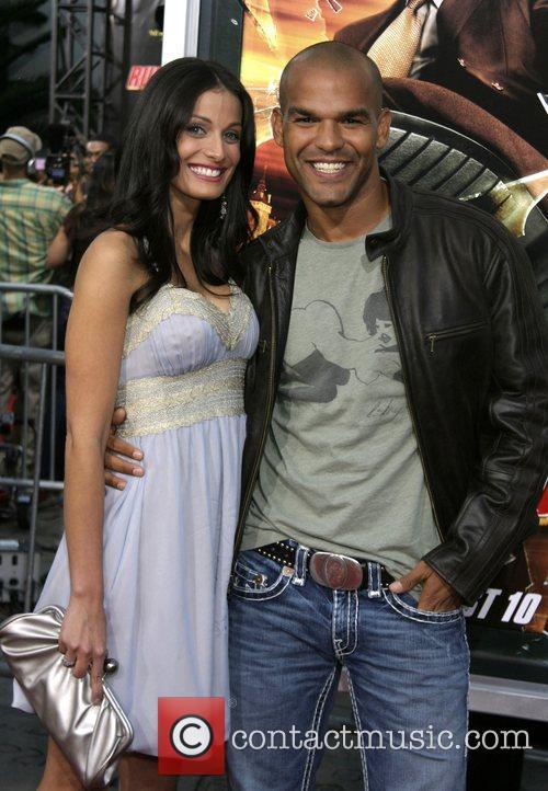 Dayanara Torres and Amaury Nolasco LA premiere of...