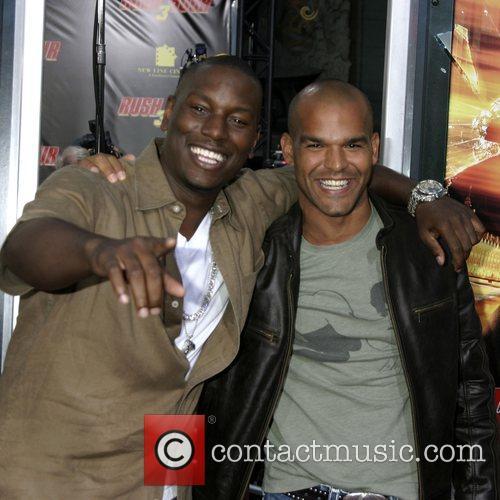 Tyrese Gibson and Amaury Nolasco LA premiere of...