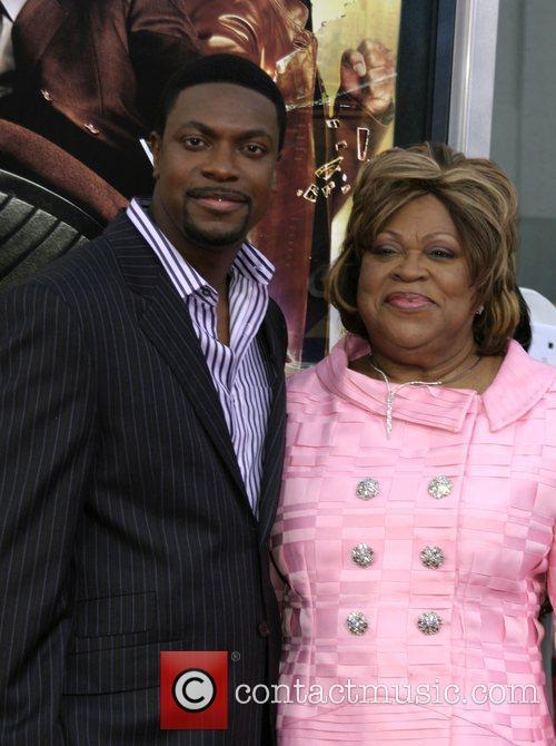Chris Tucker and mother Mary Tucker LA premiere...