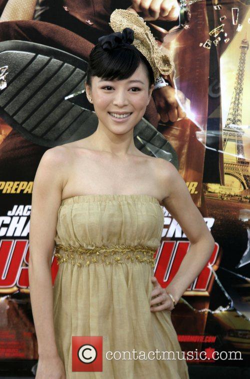 Zhang Jing Chu LA premiere of 'Rush Hour...