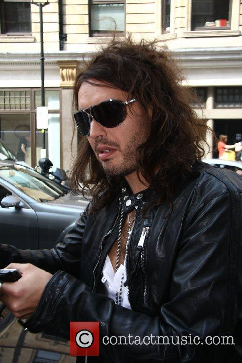 Russell Brand Leaves BBC Radio 1 making time...