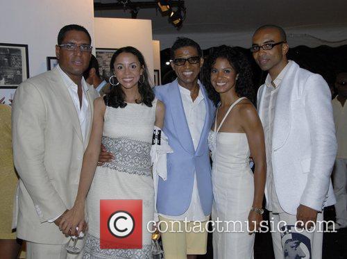 La Reid With Wife 7