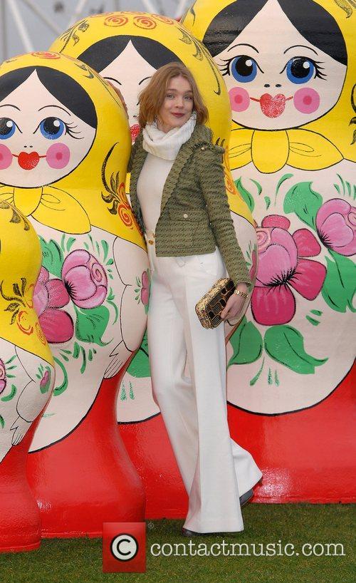 Natalia Vodianova at '4th Annual Russian Winter Festival'...