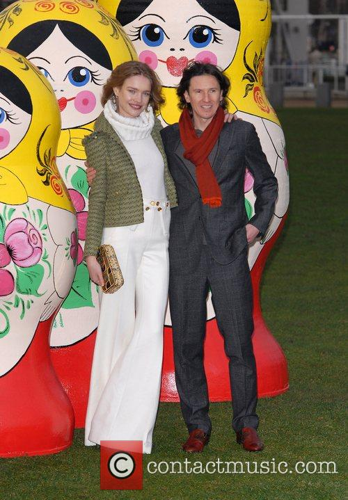 Natalia Vodianova and Alexey Smertin at '4th Annual...