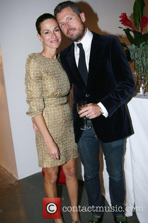 Cynthia Rowley and husband 2007 RxArt Ball held...