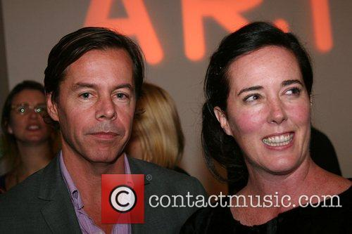 Andy Spade and Kate Spade 2007 RxArt Ball...