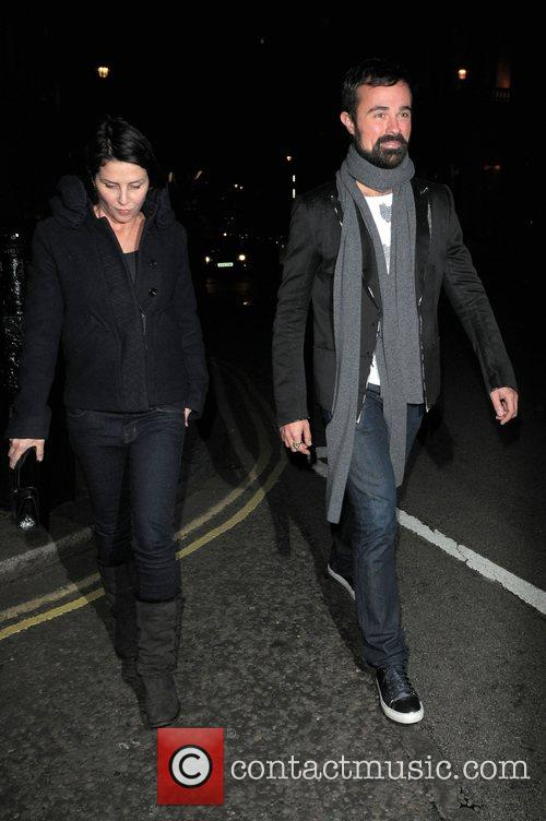 Sadie Frost and her date russian billionaire Evgeny...