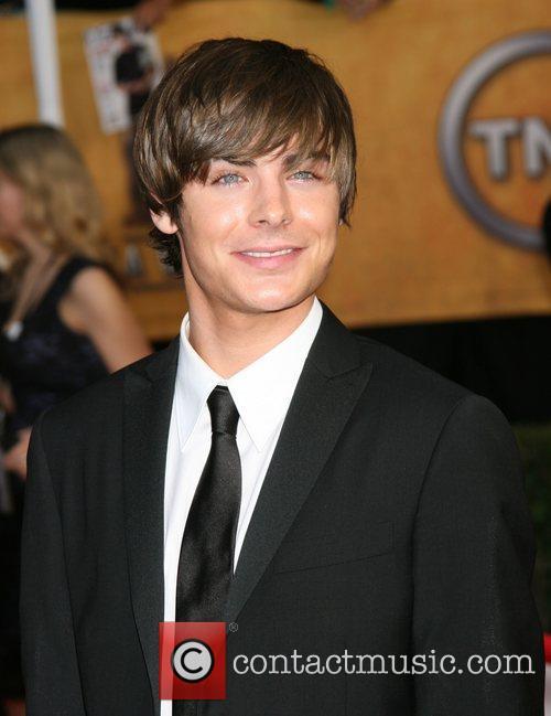 Zac Efron 14th Annual Screen Actors Guild Awards...