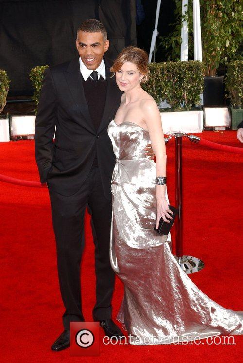 Ellen Pompeo and guest 14th Annual Screen Actors...