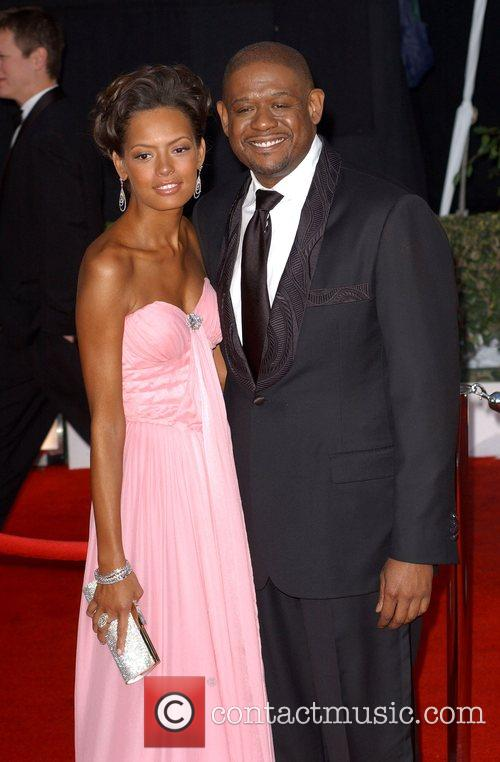 Keisha Whitaker and Forrest Whitaker 3